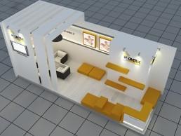 غرفه هومتکس در نمایشگاه بین المللی توانمندی های صادراتی
