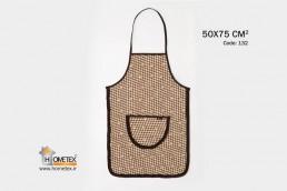 hometex brown apron hometex design