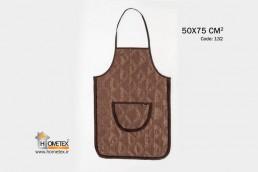 hometex brown apron g design