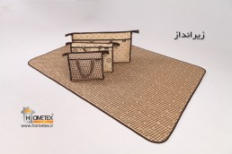 hometex camping mat set in different sizes