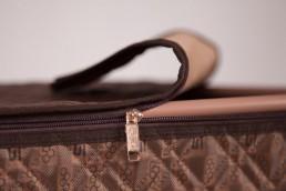 hometex clothing box dark brown with frame