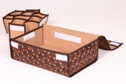 hometex handy box with separated partitions
