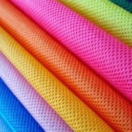 پارچه های بدون بافت اسپان باند در رنگ های مختلف