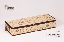 hometex underbed storage flower design