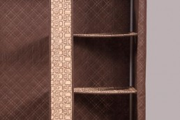 hometex brown wardrobe partitions
